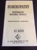 Systematic Materia Medica of Homeopathic Remedies (Hardback)