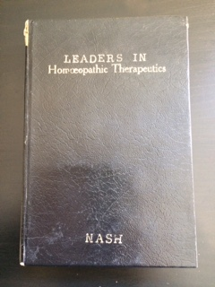 Leaders in Homeopathic Therapeutics (Hard Back)