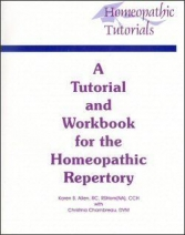A Tutorial and Workbook for the Homeopathic Repertory (Softcover)