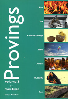 Provings volume 3 By Nuala Eising