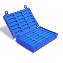 Plastic Case with Foam Inserts for 2g vials
