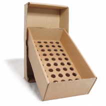 Brown Cardboard Box with 18mm Holed Platform for S10/D10