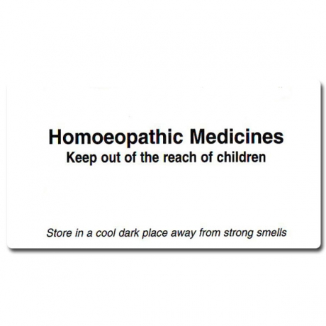 Homeopathic Medicine Labels A1L