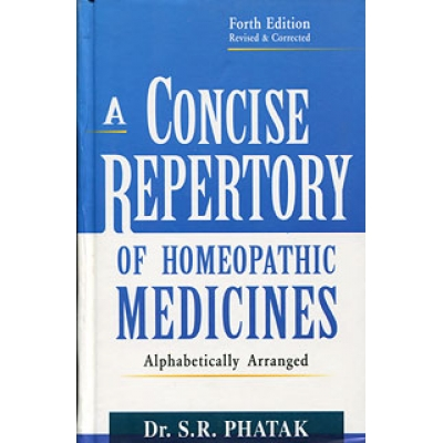 A Concise Repertory of Homeopathic Medicines (Paperback)